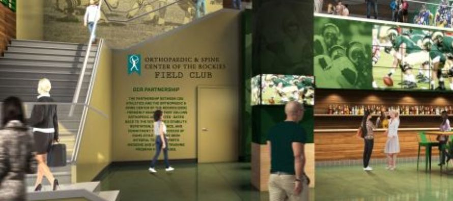 Field Club named for Orthopaedic & Spine Center of the Rockies