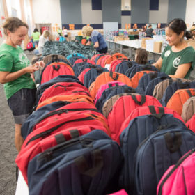 Cooler than ever: CSU delivers record number of backpacks