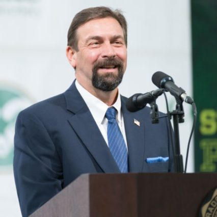Frank urges CSU to continue to push for excellence at Fall Address