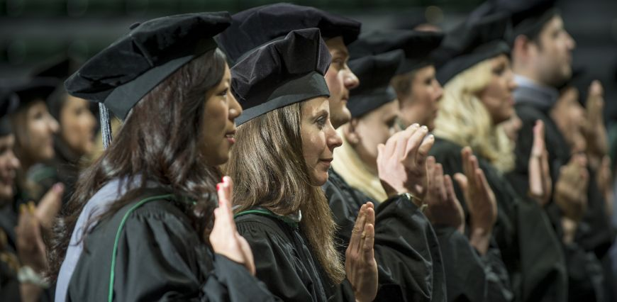 Class of 2014 Doctor of Veterinary Medicine Commencement Ceremony CSU Campus - Moby Arena Friday, May 16, 2014.