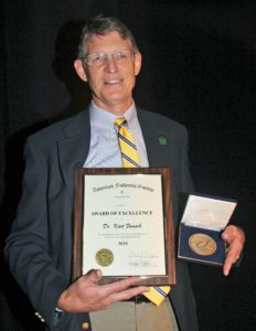 Kurt Fausch American Fisheries Society Award of Excellence