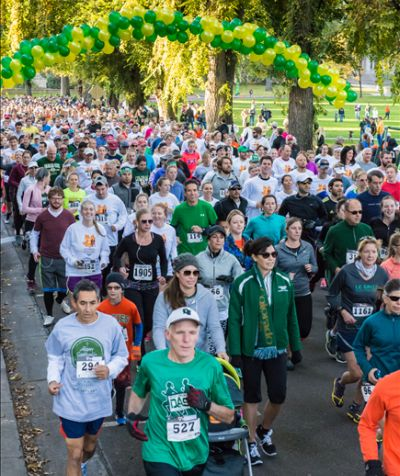 The annual Homecoming 5K is one of the largest races in the city, attracting more than 2,000 participants.