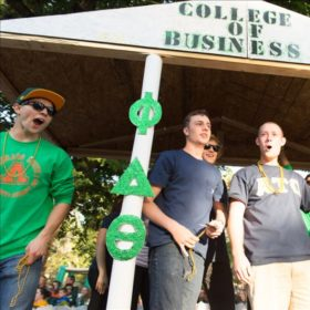 Not just for alumni: Homecoming events aplenty for students