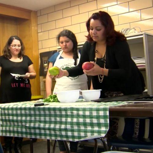 Pupil becomes teacher in CSU nutrition education program