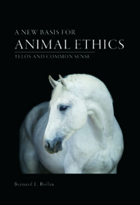 Rollin animal ethics book Sept 2016