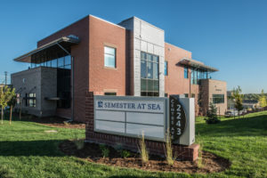 Semester at Sea's new headquarters in Fort Collins are in the recently completed building built by CSURF, September 9, 2016.