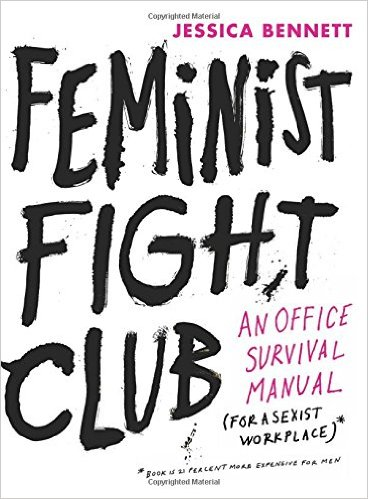 Cover of book, Feminist Fight Club