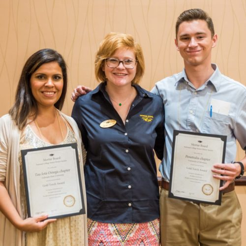 CSU Mortar Board chapter receives Gold Torch award