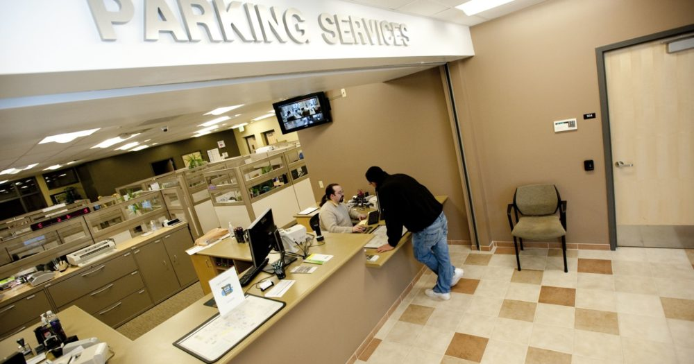 Parking Services front desk