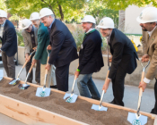 Michael Smith building groundbreaking