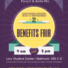 Benefits fair, flu shots and more on Nov. 2