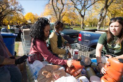 """Cans"" is the largest one-day food drive in Larimer County."