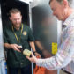 Gov. Hickenlooper visits CSU's fermentation science facilities