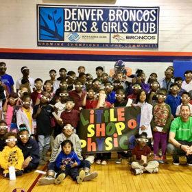 CenturyLink, Denver Broncos and CSU join forces to inspire kids with science