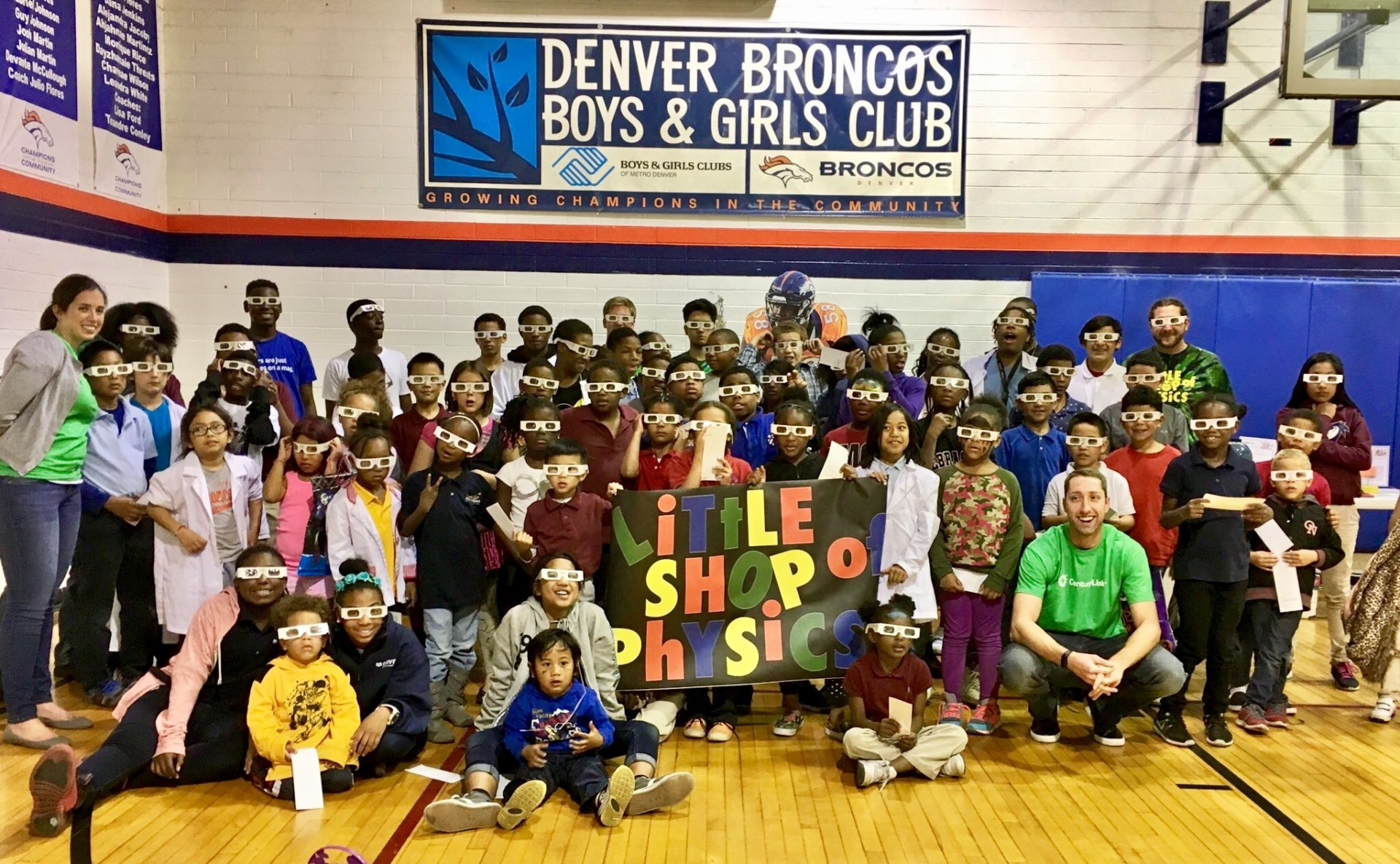 CenturyLink, Denver Broncos and CSU join forces to inspire kids with  for sale