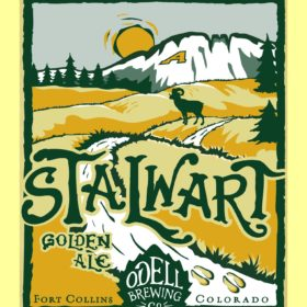 Cheers to 50 years! Raise a glass of Stalwart Golden Ale