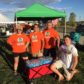 ALVS Serves helps to hydrate students at football games