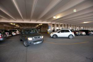 CSU Parking Services in the Parking Garage. December 16, 2010