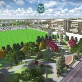Construction to start on practice fields, gardens near stadium site