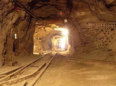 Underground mine.