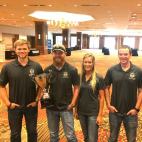 Construction Management team takes first place at national competition