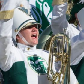 The CSU Marching Band: longest-standing Ram tradition