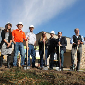 Health and Exercise Science breaks ground on lab expansion