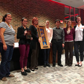 Veterinary students claim first place at international animal welfare competition