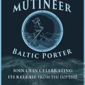 Anchors away: Mutineer Baltic Porter launches at Odell Wednesday