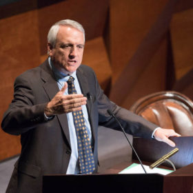 Strive for justice, reach across the aisle: Bill Ritter speaks his passion for clean energy