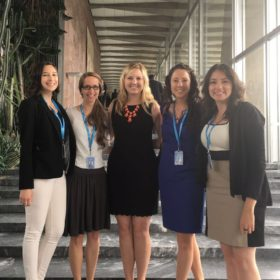 Public health students intern at World Health Organization in Geneva