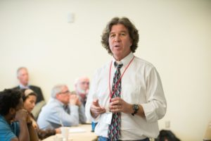 Gene Kelly leads master class on Climate Change Agriculture at Colorado State University's 2015 Agriculture & Innovation Summit. March 18, 2015