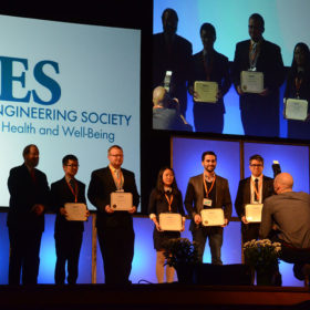 Microfluidics innovation earns student Biomedical Engineering Society honor