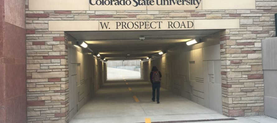 Underpass at Prospect Road, Center Ave. opens