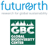 Future Earth and Global Biodiversity Center logos