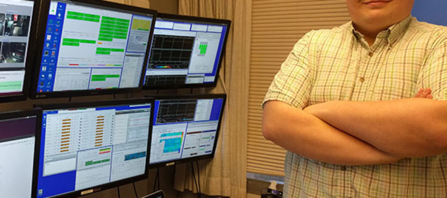 International neutrino experiment hands CSU the remote