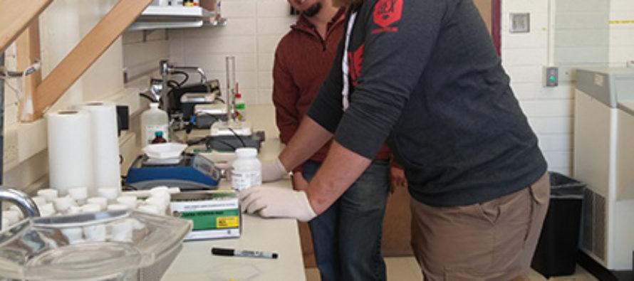 <em>Semper fidelis:</em> Former Marine takes biomedical sciences by storm