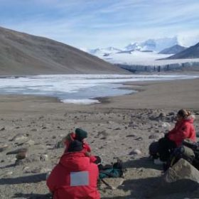 CSU wormherders in action in Antarctica