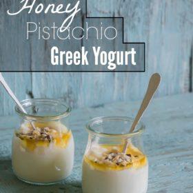 Crunchy sweet greek yogurt