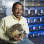 Greg Florant and marmot