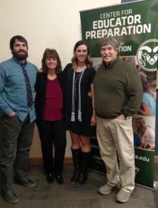 Holly Martin and family