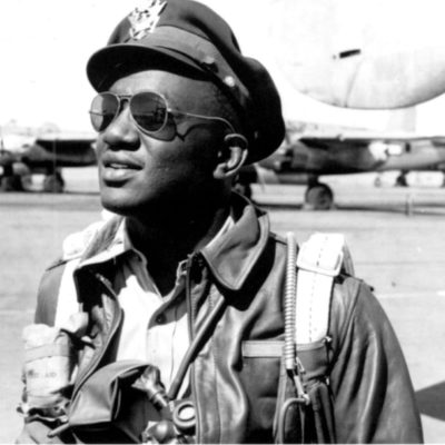 John Mosley as a Military Pilot