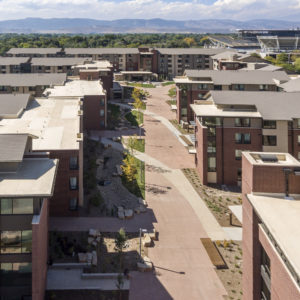 Aggie Village opened in August 2016 as the largest housing development ever built on campus.