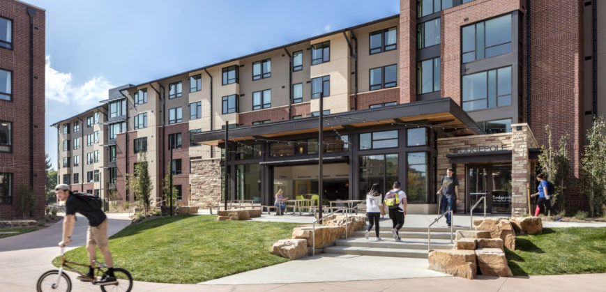 Amid The Bustle Of Building Activity At Colorado State University A Multipurpose Jewel Has Emerged Between Prospect Road And Lake Street
