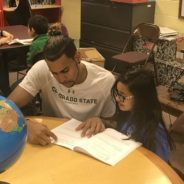 Basketball players' visit to Boys & Girls Club showcases athleticism, academics