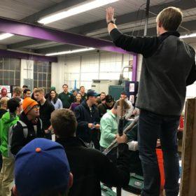 Students explore construction management student clubs