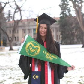 First INTO CSU Pathway student graduates
