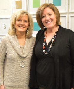 Dawn Mallette, left, and Heidi Frederiksen