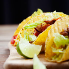 Recipe: Vegetarian tempeh tacos