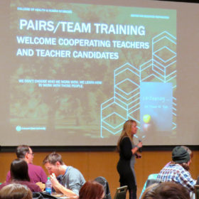 CEP and Poudre School District co-host co-teaching professional development workshop